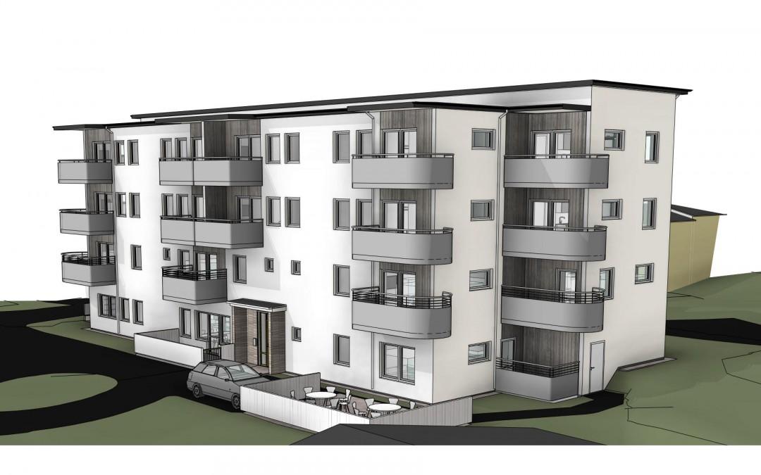 Nytt bostadshus i Hökåsen